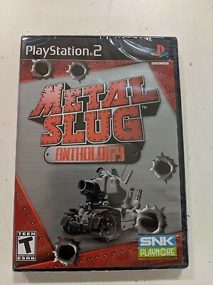 Metal Slug Anthology (PlayStation 2, PS2) Brand New Factory Sealed - Metal Slug Playstation 2