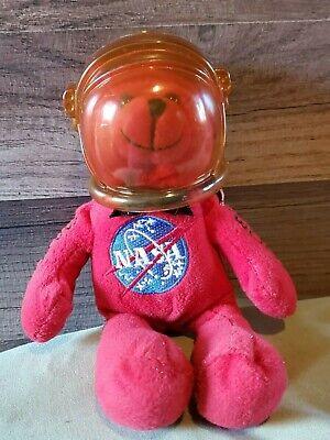 NASA Space Count Down Red Shuttle Bear RARE COLLECTIBLE 2009 original helmet