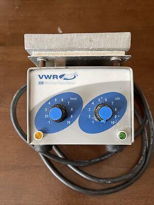 Usa American Made Vwr Mini Stirring Hot Plate Hotplate Magnetic 115v Ul Quality