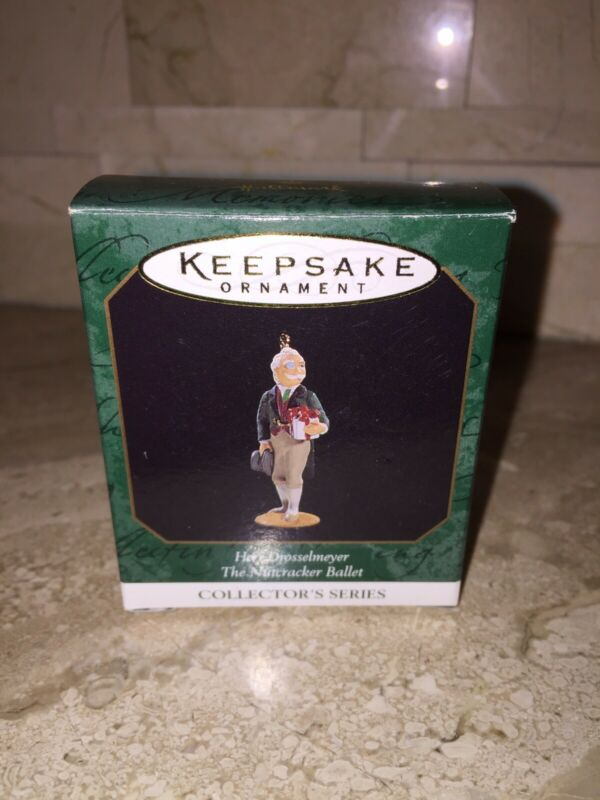 HALLMARK NUTCRACKER BALLET HERR DROSSELMEYER CHRISTMAS TREE ORNAMENT 1997