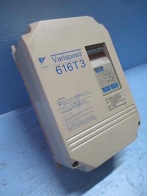 Yaskawa Varispeed 616t3 Cimr-t3a21p5 200v Class Inverter Drive 7.2 Amp 230vac