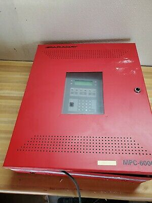 Faraday Mpc-6000 Fire Alarm Panel Tested Working