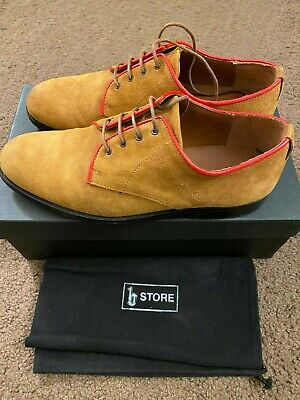B Store Gordon Tan Suede Shoes Men Size 9 Euro Size 42