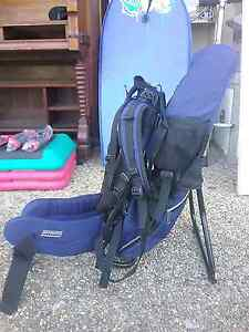 Kathmandu baby back pack hiking carrier for young child Shailer Park Logan Area Preview
