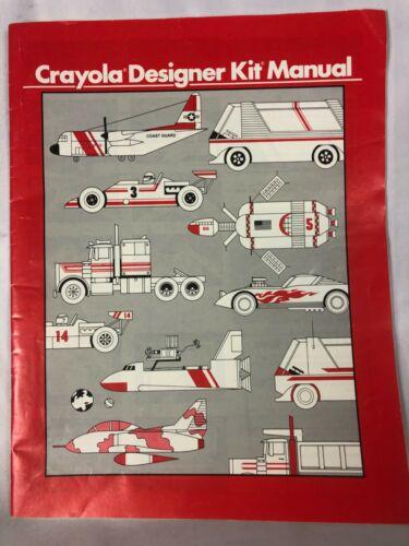 Crayola Designer Kit Manual    F