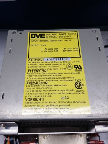 Switching Power Supply DVE DSP-1454P - Dynex MLX Microtiter Plate Reader