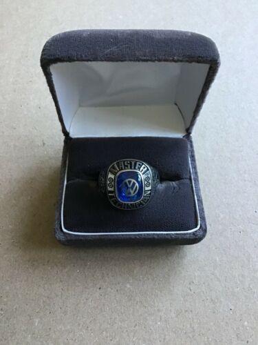 Vintage  VW  Master Technician award  ring.