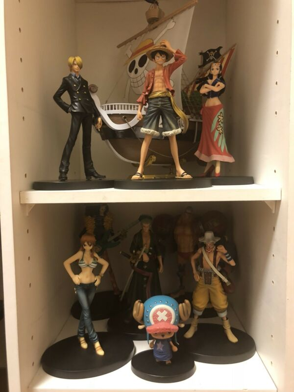 9 set All One piece character action figure