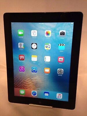Apple iPad 3rd Generation 16GB Black WiFi Good Condition