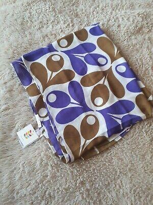Orla Kiely Acorn Print Scarf/Stole/Shawl/Pashmina Purple by Uniqlo BNWT