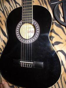 BLACK STUDENT GUITAR WITH BAG Coombabah Gold Coast North Preview