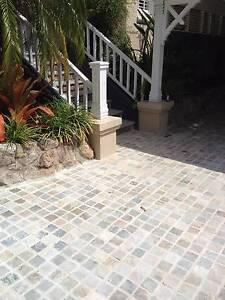 Gold Cobblestone tiles approx 10sqm Mosman Mosman Area Preview