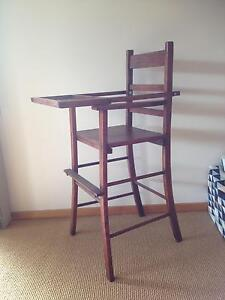 Old fashion high chair Bridport Dorset Area Preview