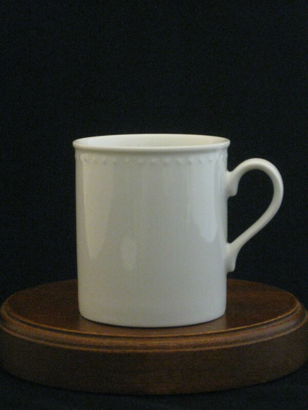 Crate & Barrel Staccato Fine Porcelain Cup Mug Made in Japan