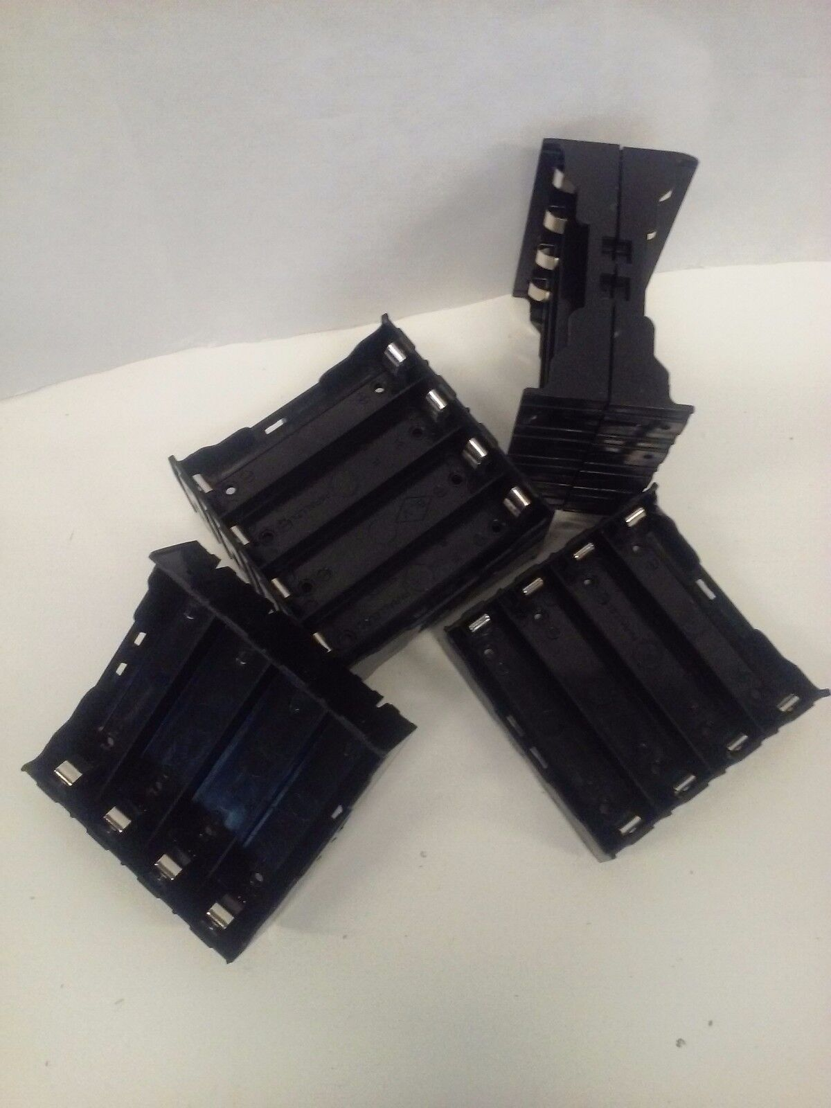 6 pcs 4 BAY Rechargeable 18650 PCB Battery Charging Cell Hol
