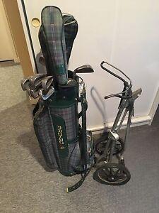 Equipement de golf batons sac chariot