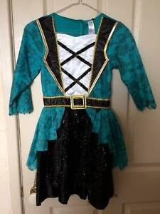 Pirate Dress Up Girls Size 9-10
