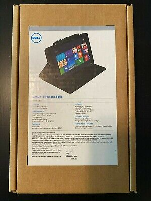 Dell Venue 8 Pro 64GB, Wi-Fi, 8in - Black