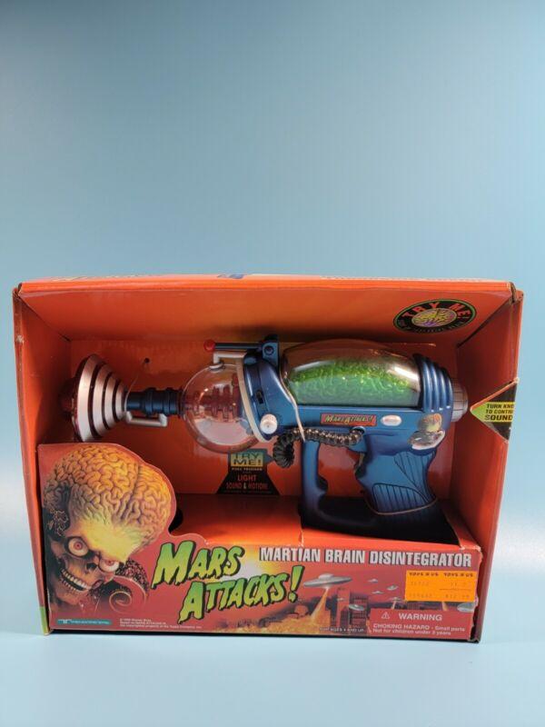 Trendmasters 1996 Tim Burton Mars Attacks Martian Brain Disintegrator Topps