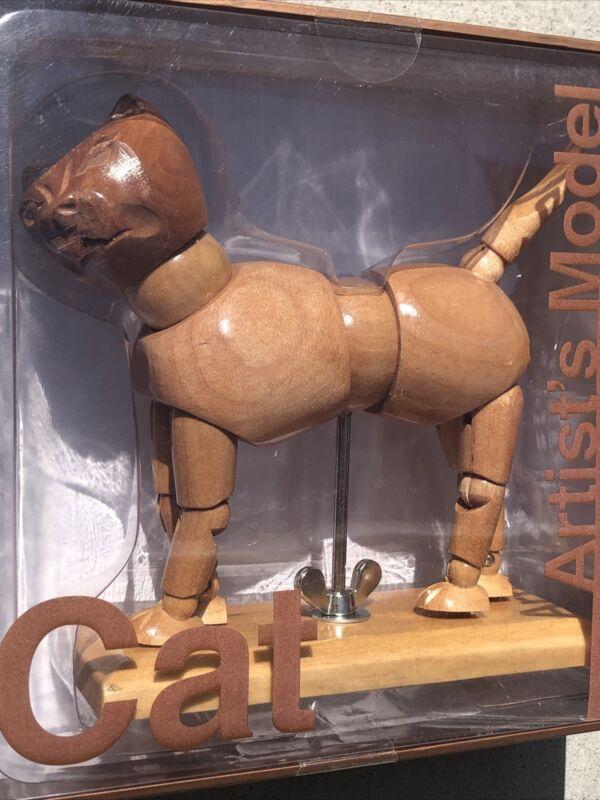 CAT Articulated Wooden Artist