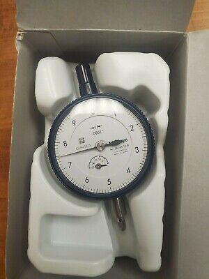 New Mitutoyo Dial Indicator 2804s-10 Range 0-0.050 0-10 Dial Reading