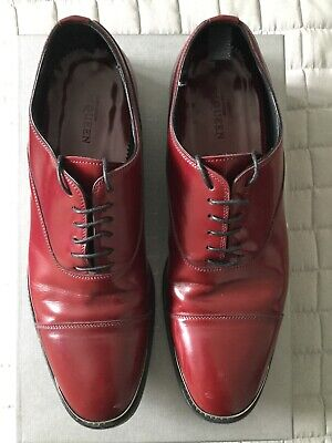 Alexander McQueen Mens leather shoes worn few times size 43 RRP £596 NOW £119