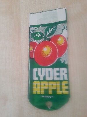 Vintage cyder apple lolly wrapper unused Prop Display
