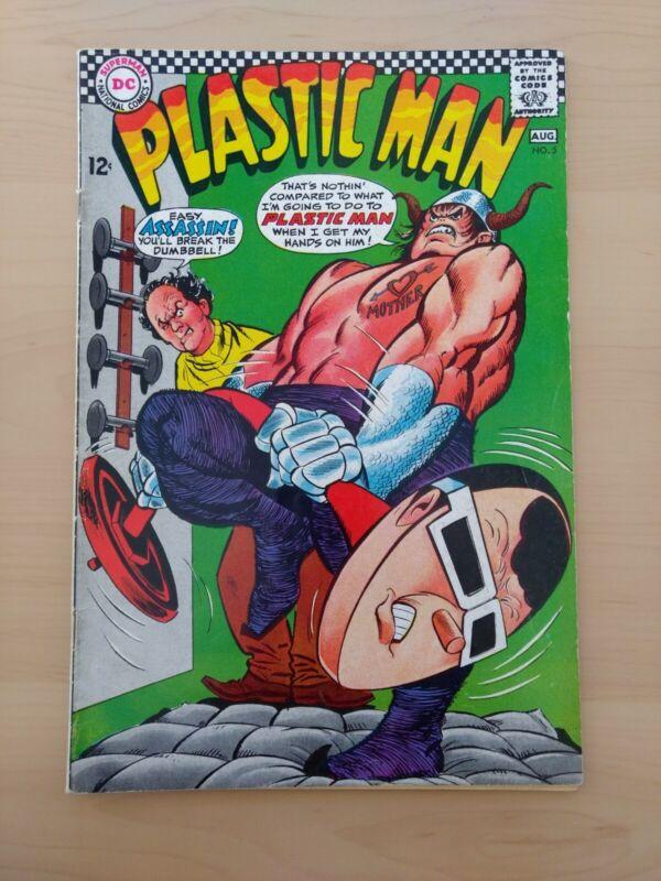 Plastic Man #5. DC Comics 1966. Fine-
