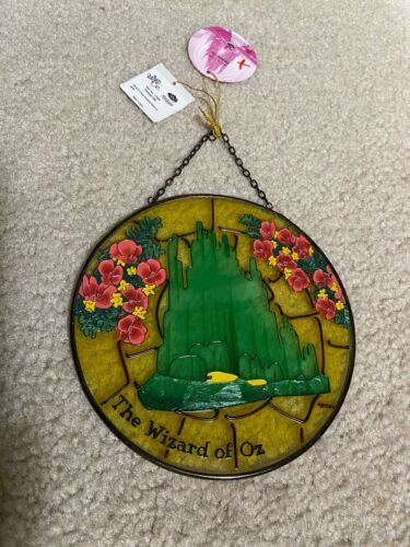 THE WIZARD OF OZ Westland Giftware Glass PLATE