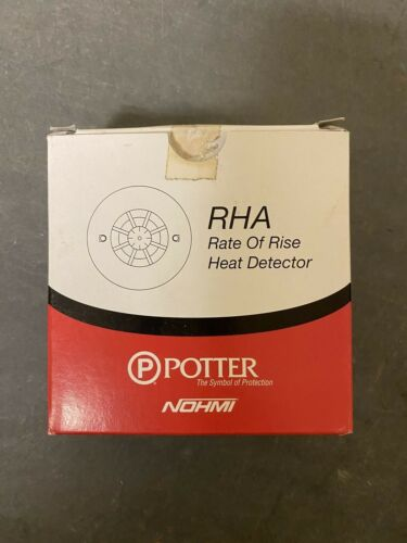 Potter NOHMI RHA rate of rise heat detector. With base included.