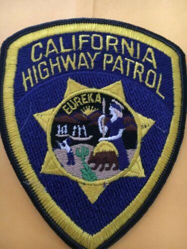 California Highway Patrol Vintage Police Patch CHP