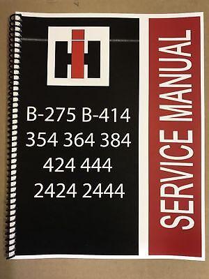 2444 International Harvester Tractor Technical Service Shop Repair Manual