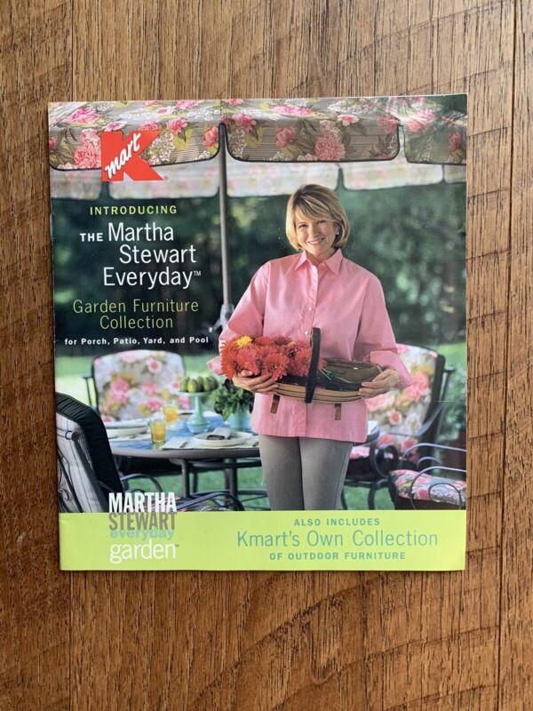 Vintage Small Martha Stewart Everyday Kmart Garden Furniture Catalog