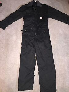 Insulated coveralls.