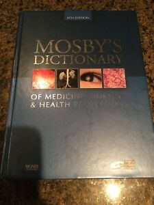 Mosby's Dictionary of Medical, Nursing and Health Professionals