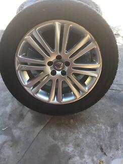 3 VOLVO XC90 19 INCH RIMS AND TYRES (255/50/R19