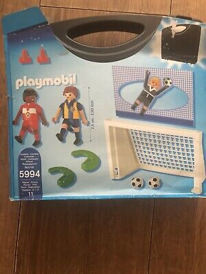 Original Box Playmobil 5994 Sports & Action Take Along Football Shoot Out