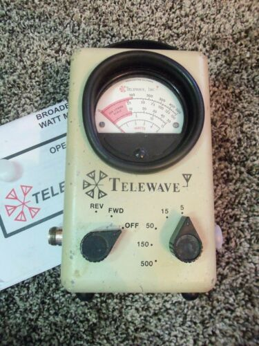 Telewave 44A Thruline Watt Meter / Bird 43 4304A Type