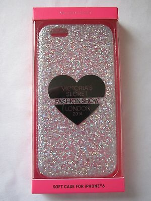Victoria's Secret Glitter 2014 Fashion Show iPhone 6 Phone Soft Case NIB