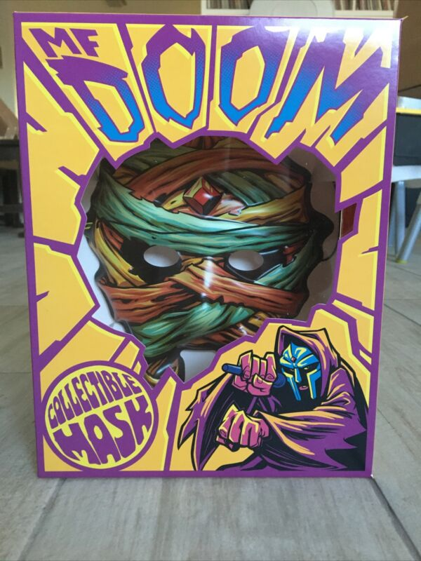 MF DOOM Collectible Mask Mummy SOLD OUT Rap NEW Limited Edition Box