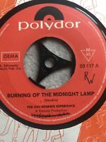 Schallplatte, Seltenheit: Jimi Hendrix: burning of the midnight Düsseldorf - Bezirk 6 Vorschau