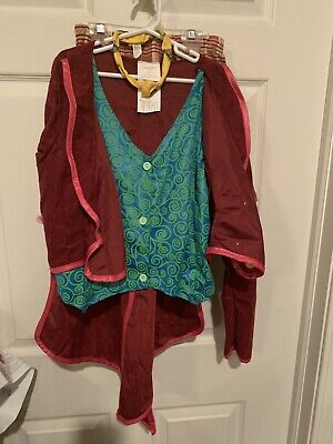 Mad Hatter Costume Tween Size XXL 14-16 Alice In Wonderland Almost Complete