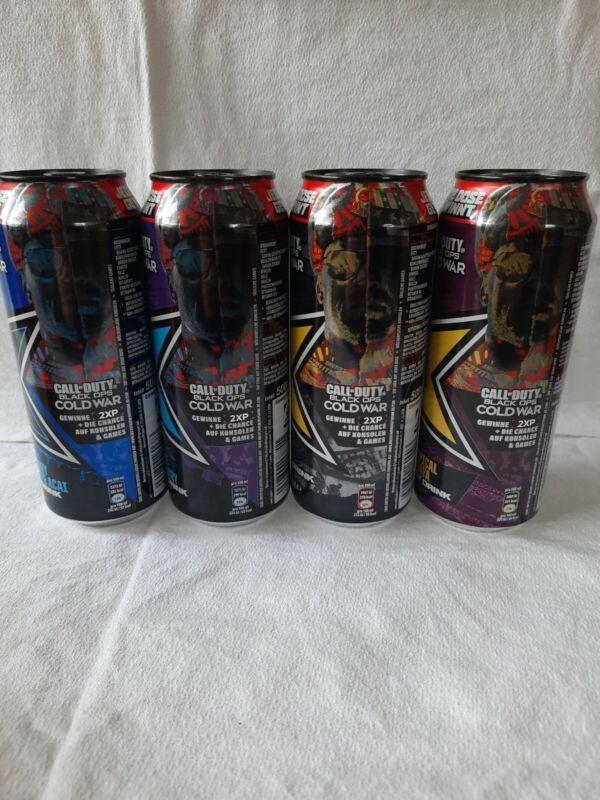 Rockstar Energy Drink Dosen Germany 🇩🇪  Call Of Duty