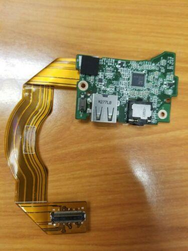 "Dell Xps 13-l321x 13.3"" Oem Usb Audio Power Io Button Board W/cable Mgkmo"