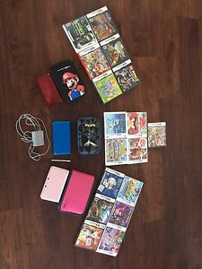 1 3DS and 2 3DS XL