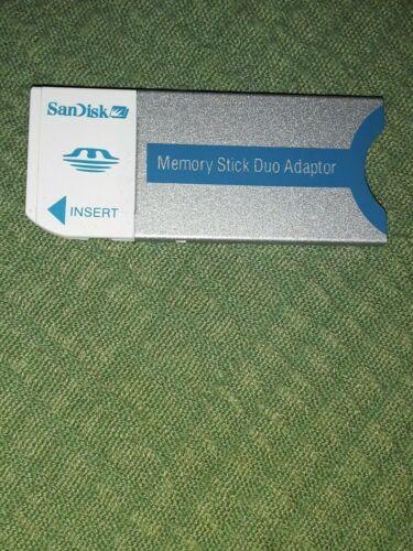 SanDisk Memory Stick Duo Adapter Adaptor 20-90-00125 Sony Camera