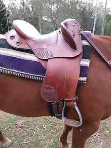 """Polocrosse Deluxe Horselines Saddle 16"""" South Maclean Logan Area Preview"""