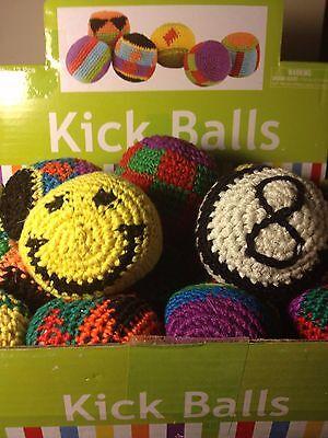 Hacky Sack - Foot Bead Bag - Kick Balls - Hackey Sack - Stall Trick Panel Bag