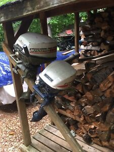 Johnson and evinrude 4hp's outboards