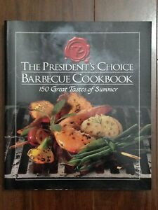 Presidents Choice BBQ cookbook
